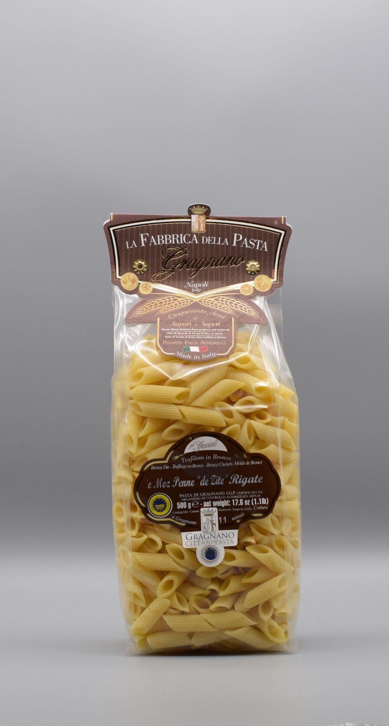 La Fabbrica della Pasta di Gragnano Penne de Zite (kurz)