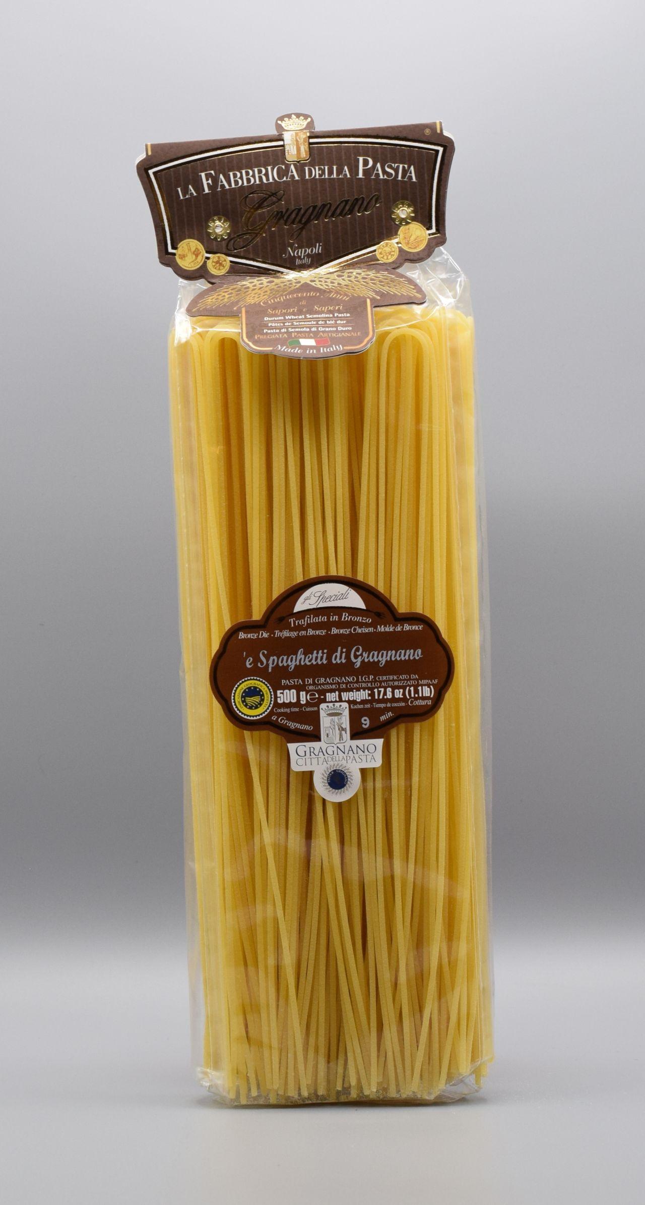 La Fabbrica della Pasta di Gragnano Spaghetti