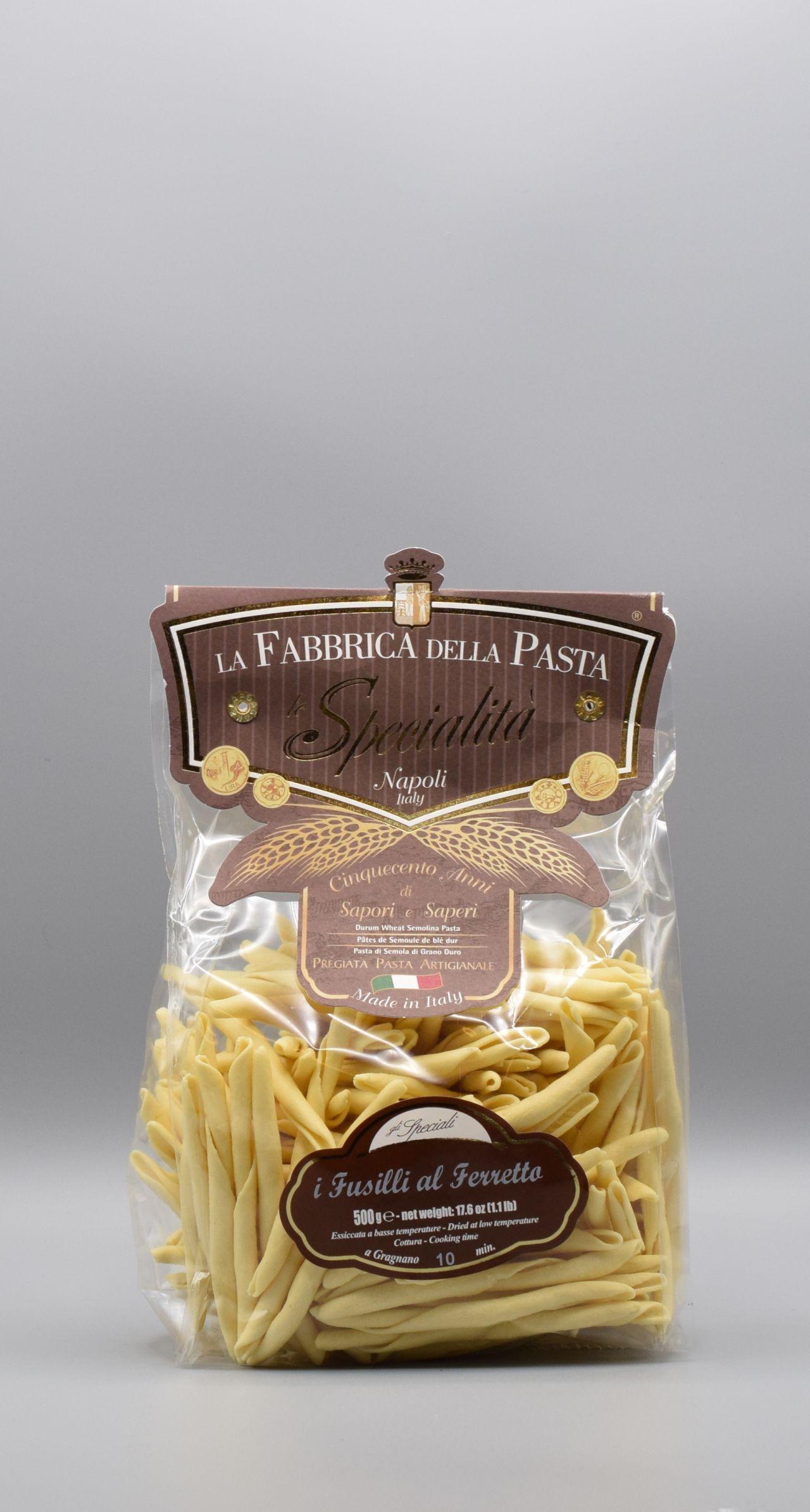 La Fabbrica della Pasta di Gragnano I Fusilli al Ferretto