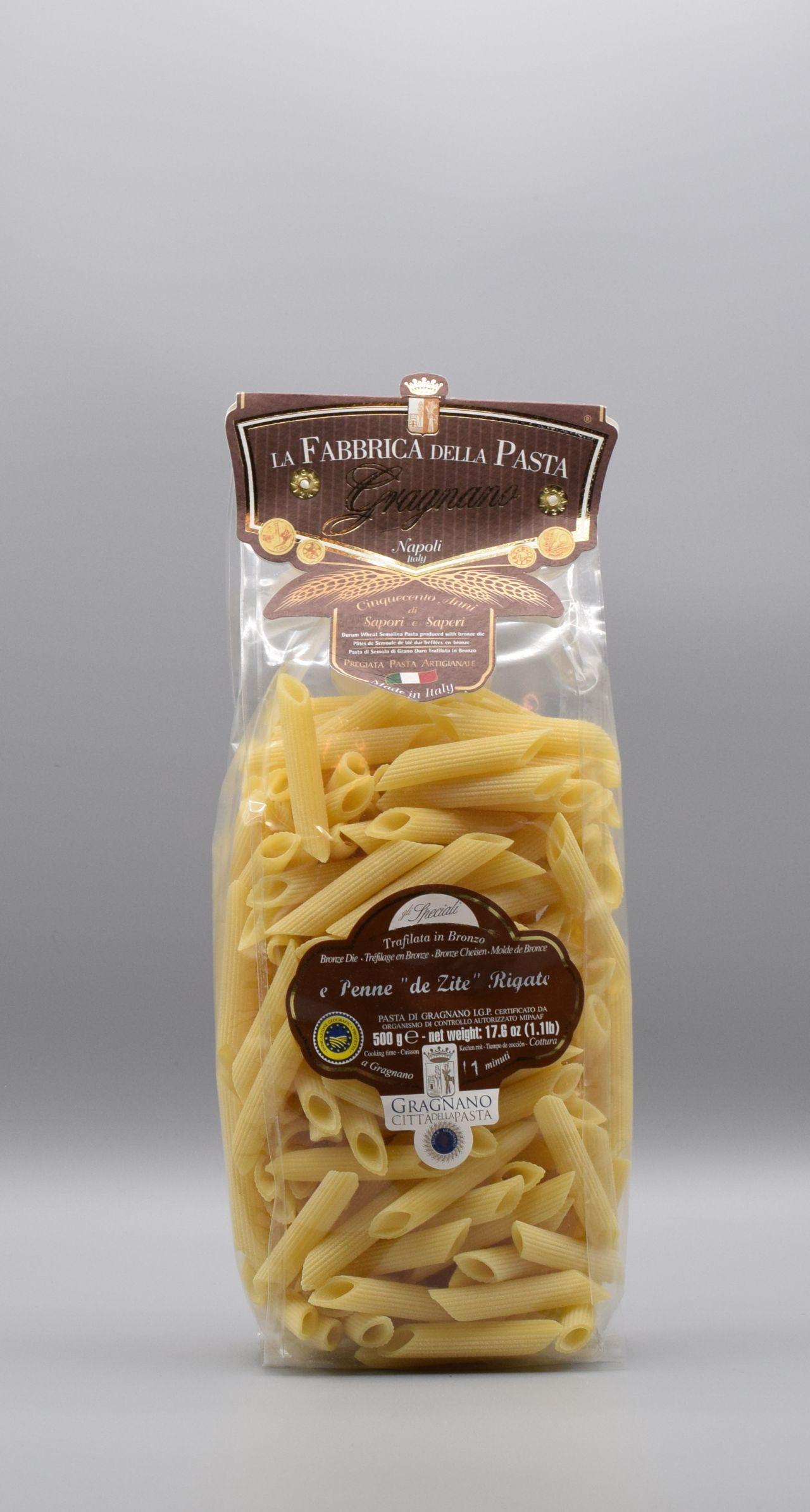 La Fabbrica della Pasta di Gragnano Penne de Zite (lang)